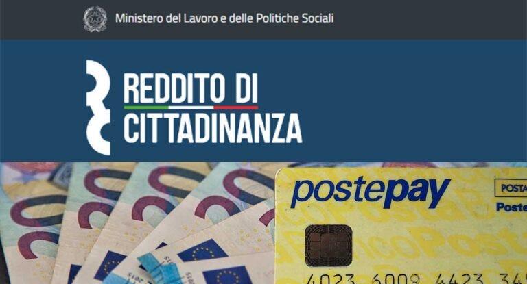 Reddito di cittadinanza: pagamenti a giugno 2021