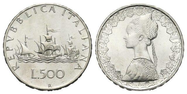 500 lire caravelle