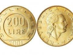 moneta 200 lire