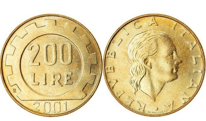 Monete rare: 200 lire del 1977, quanto valgono oggi?
