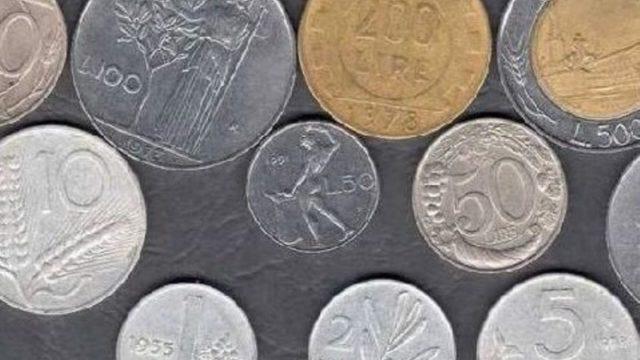 vecchie lire monete