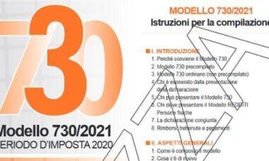 Calendario rimborsi 730/2021
