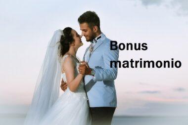 bonus matrimonio: fregatura per i promessi sposi